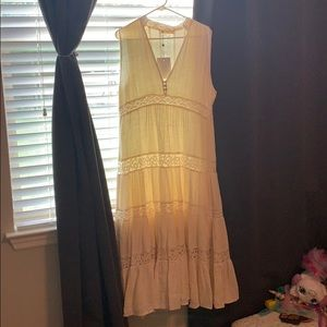 Nwt spell doe eyed midi dress